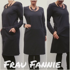 Frau Fannie Kleid Collage 2