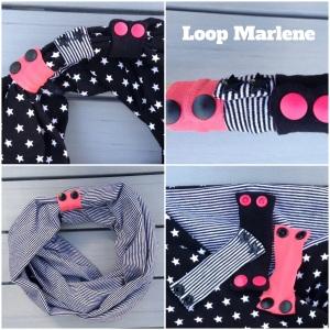 Loopschal Marlene