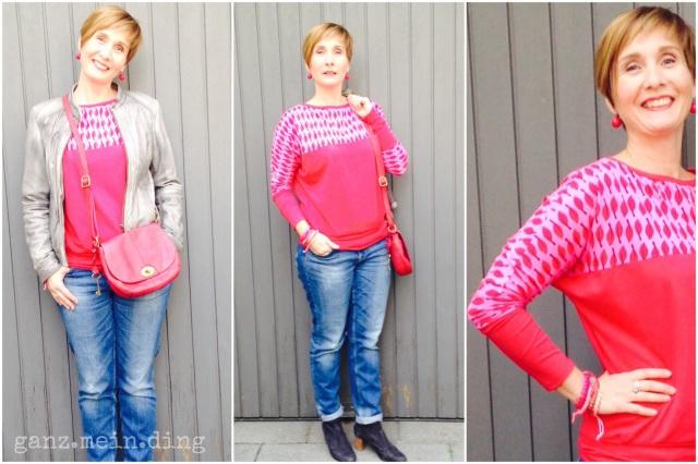 Frau Madita in Pink