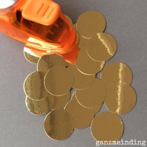 Gold gestanzt