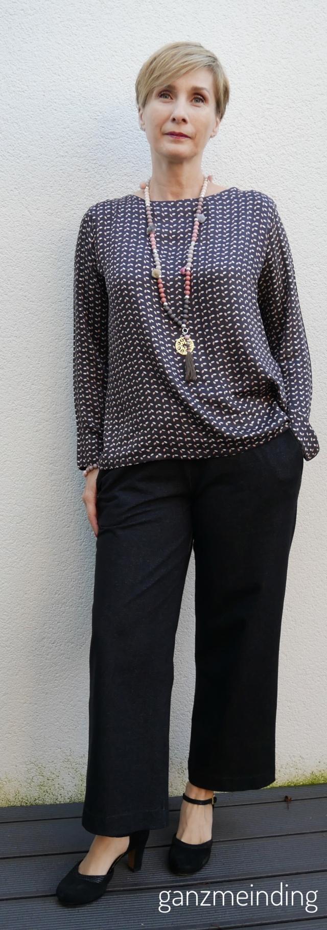 Weite Hose und Frau Yoko, die Komplizin, fritzi schnittreif, genäht von ganzmeinding 01