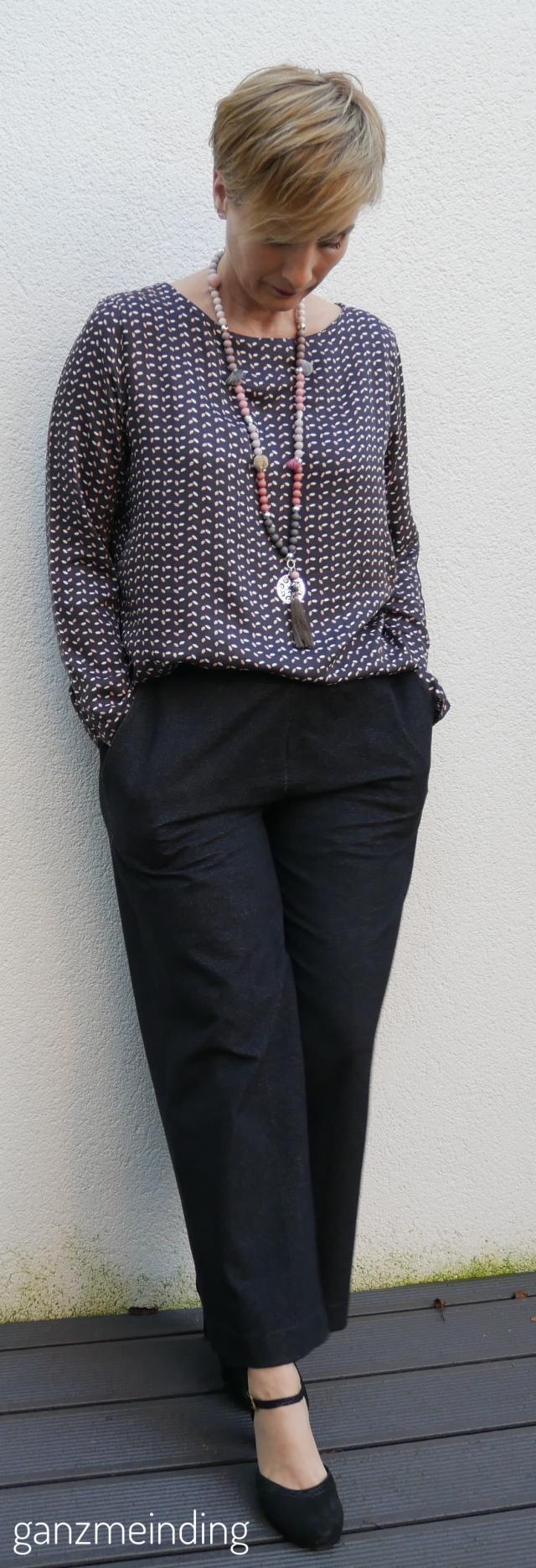 Weite Hose und Frau Yoko, die Komplizin, fritzi schnittreif, genäht von ganzmeinding 04