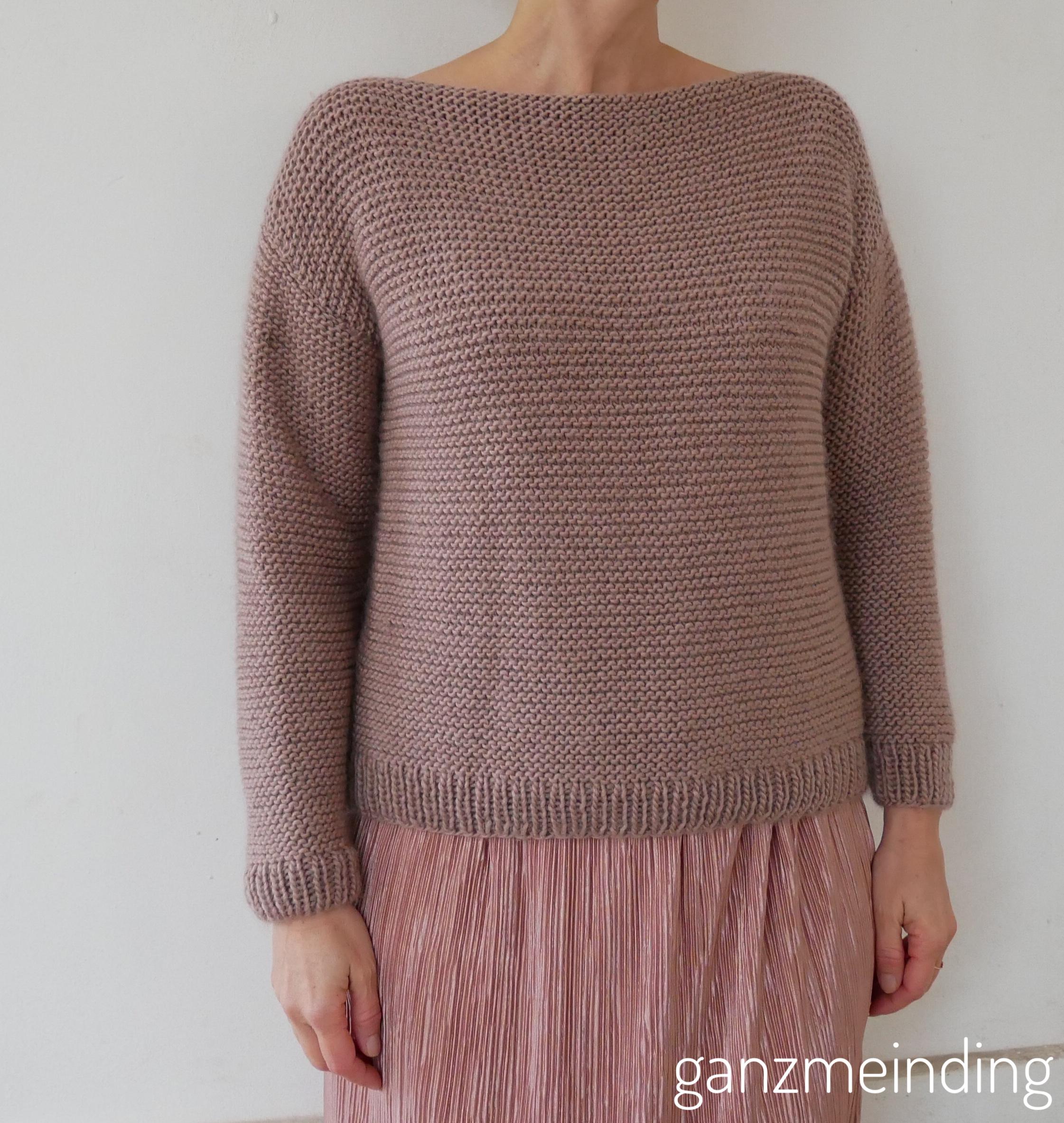 Plisseerock und Dalston Sweater von We are knitters genäht von ganzmeinding 06