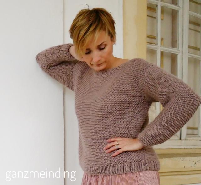Plisseerock und Dalston Sweater von We are knitters genäht von ganzmeinding 0