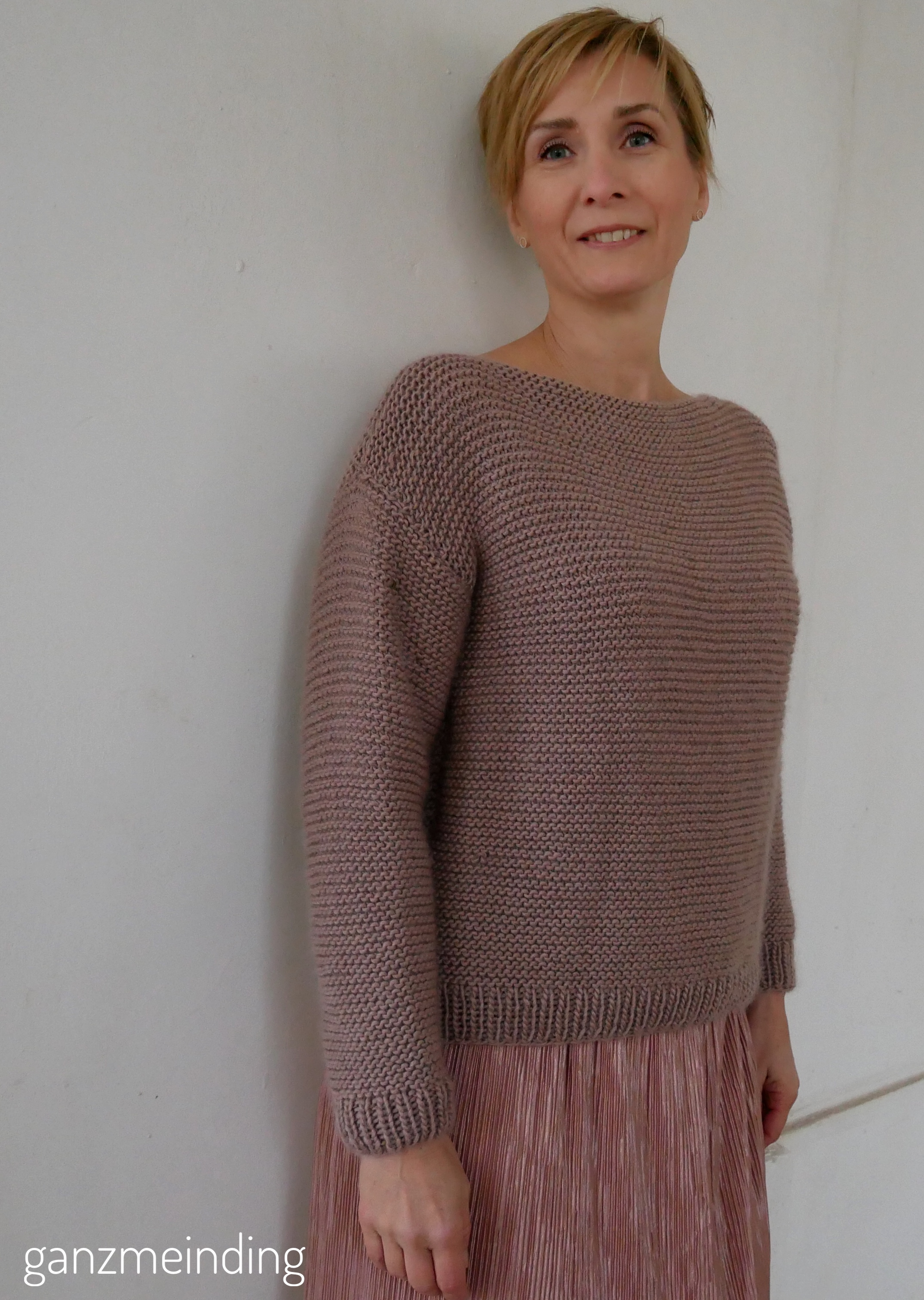 Plisseerock und Dalston Sweater von We are knitters genäht von ganzmeinding 09
