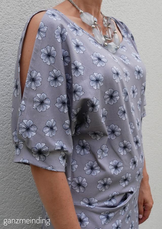 Kleid offen Ärmel, Schnitt Dana Lubke, Little May von Lila-Lotta für Swafing, genäht von ganzmeinding 08