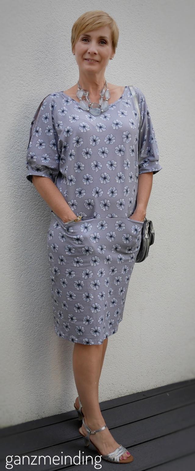 Kleid offen Ärmel, Schnitt Dana Lubke, Little May von Lila-Lotta für Swafing, genäht von ganzmeinding 02