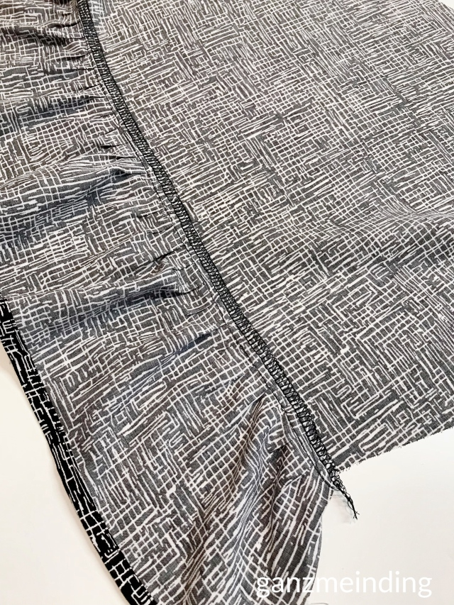 Kleid mit Rüschen, Dana Lübke, Tutorial Ruffler Bernina, ganzmeinding 17