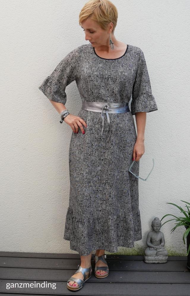 Kleid mit Rüschen, Dana Lübke, Tutorial Ruffler Bernina, ganzmeinding 02