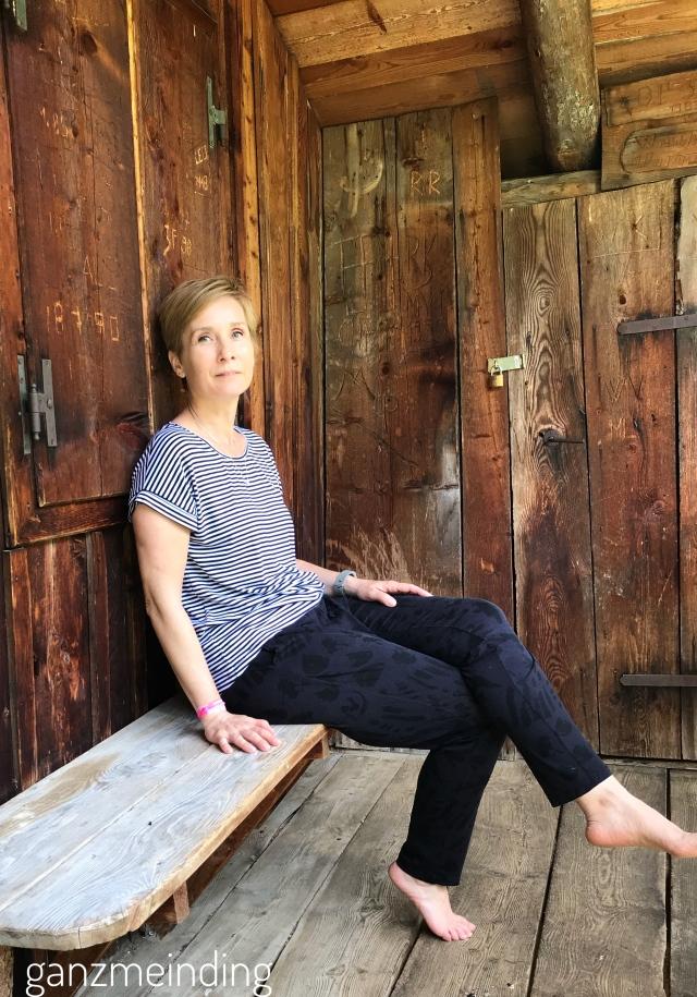 Frau Paula von Hedi näht, Shirt Odette la Maison Victor, genäht von ganzmeinding 02