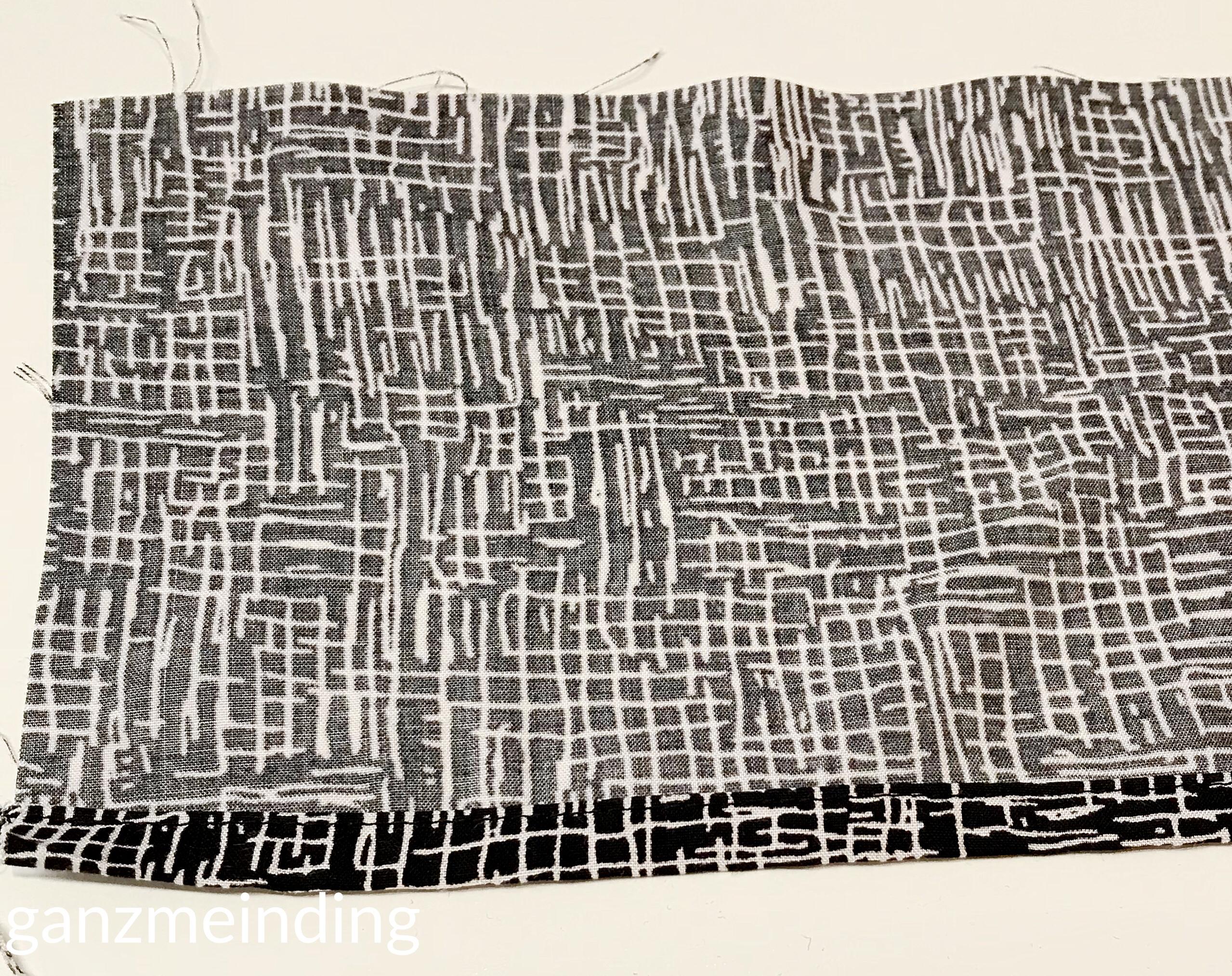 Kleid mit Rüschen, Dana Lübke, Tutorial Ruffler Bernina, ganzmeinding 15
