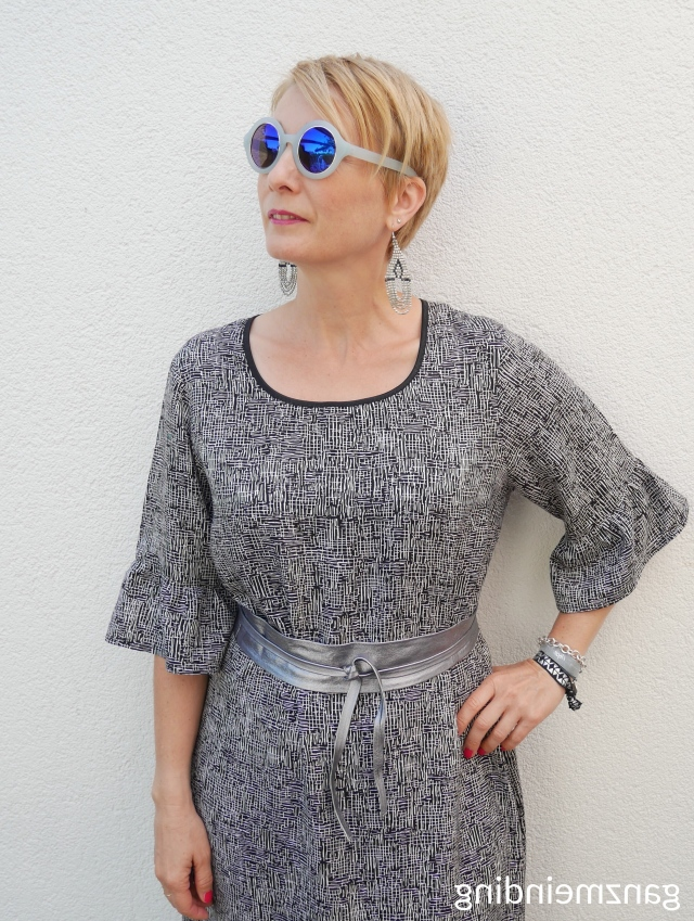 Kleid mit Rüschen, Dana Lübke, Tutorial Ruffler Bernina, ganzmeinding 23