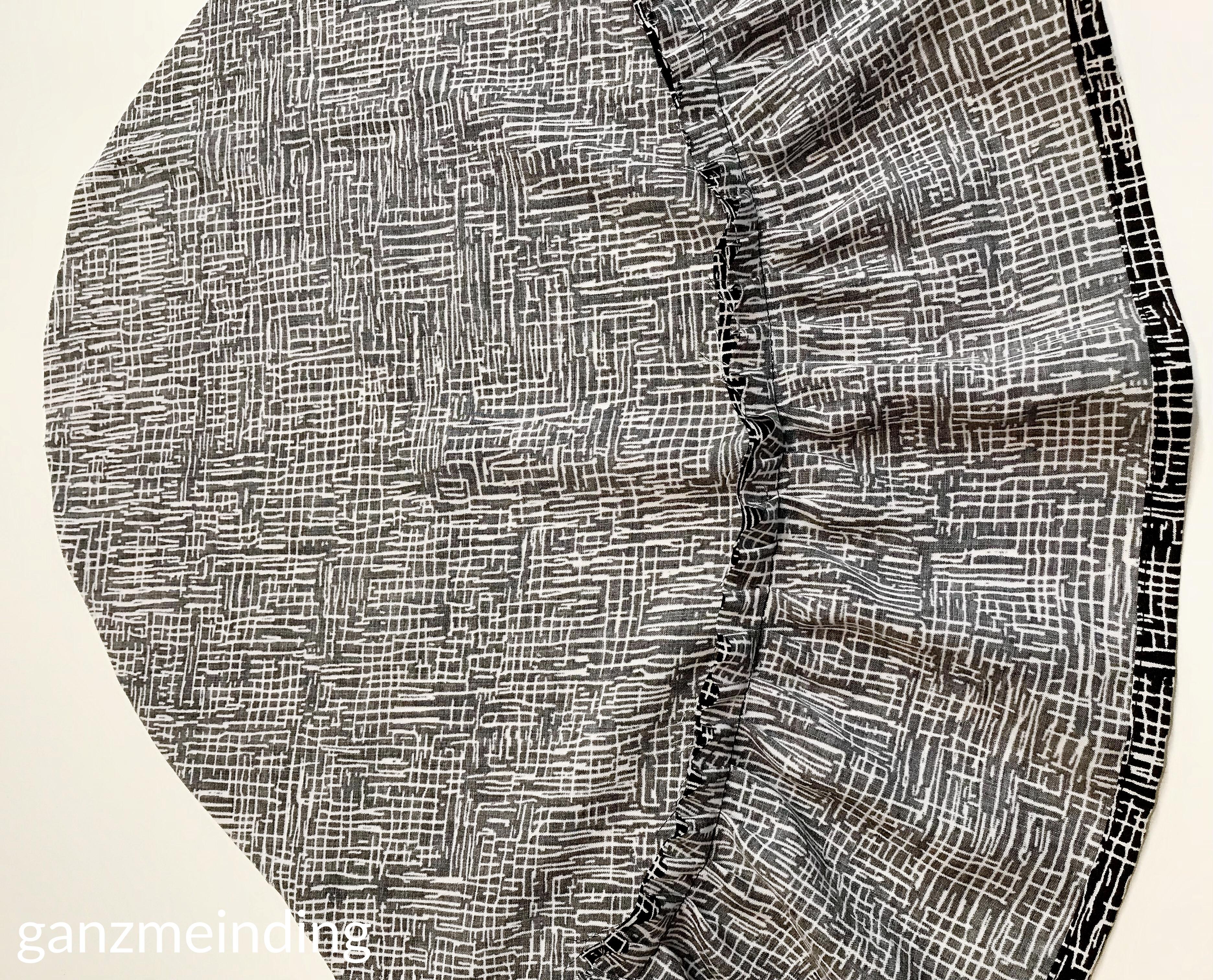 Kleid mit Rüschen, Dana Lübke, Tutorial Ruffler Bernina, ganzmeinding 16