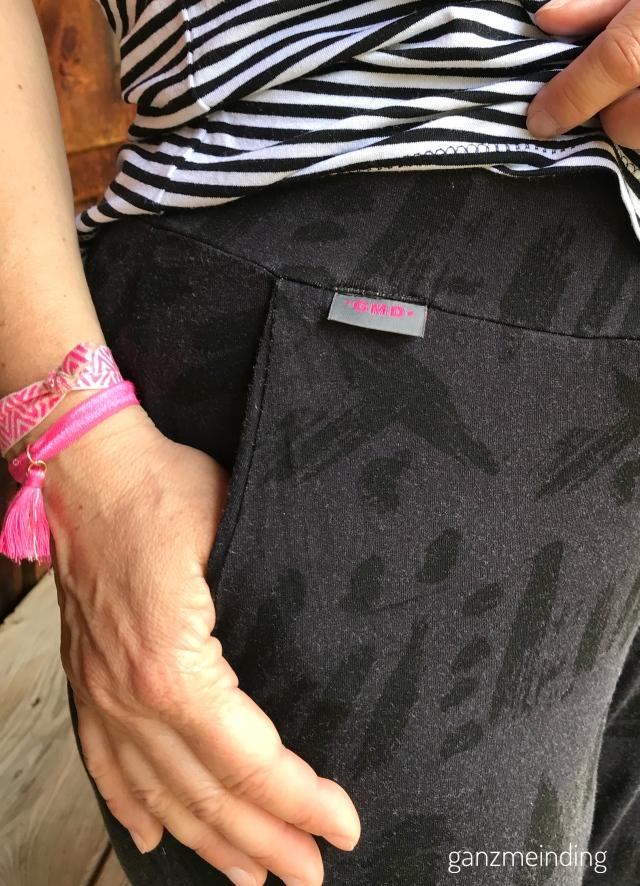 Frau Paula von Hedi näht, Shirt Odette la Maison Victor, genäht von ganzmeinding 04