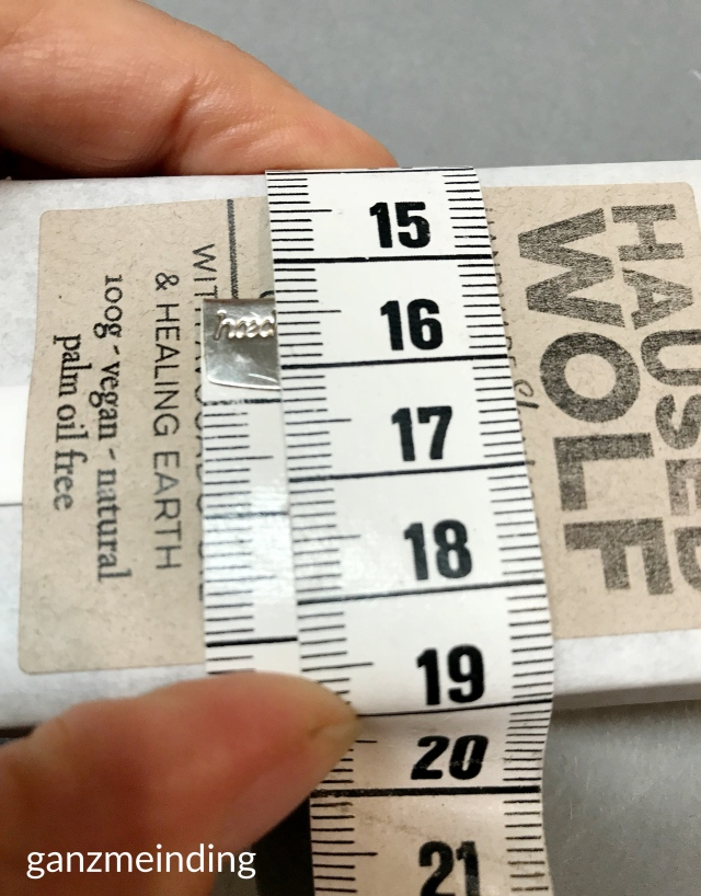 ganzmeinding: gratis Tutorial Seifensäckchen nähen, Seifen Haused Wolf 09