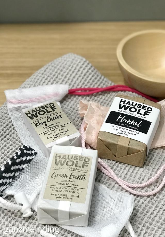 ganzmeinding: gratis Tutorial Seifensäckchen nähen, Seifen Haused Wolf 25
