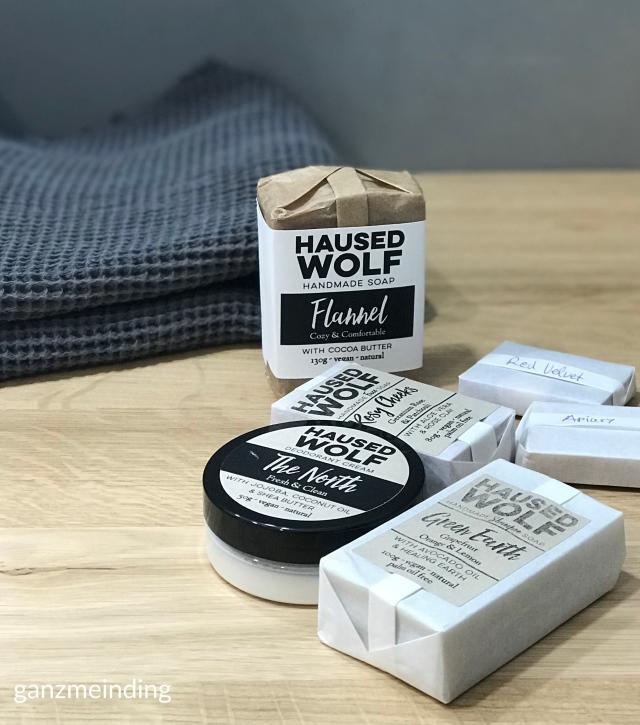 ganzmeinding: gratis Tutorial Seifensäckchen nähen, Seifen Haused Wolf 03